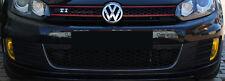 C002 Nebelscheinwerfer Blenden Aufkleber Set Gelb für VW Golf 6 GTI GTD Folie