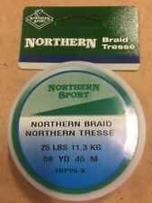 5047 Northern Sport Braided Line 25lbs 50yards 1Bp25-X