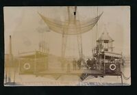 Wales Mon Monmouthshire NEWPORT Transporter Bridge 1910 RP PPC by Busby