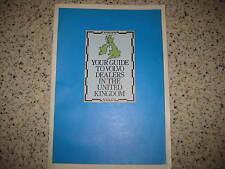 VOLVO 240 260 340 360 740 760 SERIES - 1982 DEALER LISTING SERVICE SALES BOOKLET