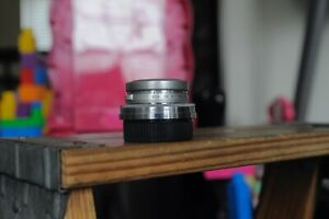 Canon Serenar 35mm F3.5 Canon Rangefinder   Lens For Leica Screw Mount