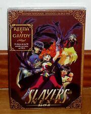 SLAYERS NEXT BOX 2-SEGUNDA TEMPORADA-5 DISCOS DVD NUEVO PRECINTADO ANIME R2