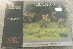 Pegasus Hobbies-WAFFEN SS-set 2 1943 KURSK L.A.H.-No.7202-1/72 model figure kit