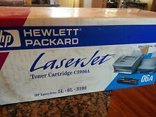 Genuine HP C3906A 06A BLACK Toner Cartridge - LaserJet 5L 3100 - NEW