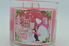 BATH & BODY WORKS WINTER CANDY APPLE  SCENTED CANDLE 14.5 oz 3 wick New