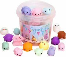 24Pcs Children's Party Gifts Mochi Soft Toy Mini Squeeze Mochi To Relieve Stress