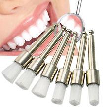 Pro 100PCS Latch Flat Dental Disposable Polisher Polishing Prophy Brush Cleaning