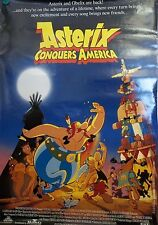 1994 Asterix Conquers America Original Double Sided Movie Poster 27x40