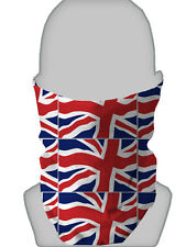 LARGE UNION JACK DESIGN NECK WARMER BIKER FACE MASK NECK TUBE SNOOD L&S PRINTS