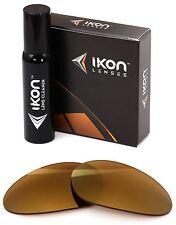 polarizzati IKON IRIDIO Lenti di ricambio per OAKLEY MINUTO 1.0 24k Oro specchio
