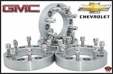 "4 PC CHEVY SILVERADO 3500 DUALLY DURAMAX 8 LUG WHEEL SPACERS ADAPTERS 2"" THICK"