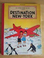 JO, ZETTE ET JOCKO - HERGE - Destination New-York B10 Casterman 1954