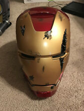 MODDED! Custom! Marvel Legends Iron Man Electronic Helmet Adult Replica Cosplay