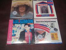 PAUL SIMON RARE JAPAN OBI REPLICA LP 2006 SEALED 4 CD SET W/ S/T RHYMIN HEARTS +