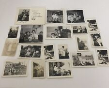 Lot Of 21 Vintage Photos Of Parents And Their Children