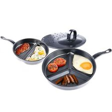 3 in 1 Premier Divide Wonder Tri-Pan Cooking Set
