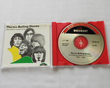ROLLING STONES Live in London 1963-65 ITALY CD DOCUMENT Records DR007 CD(1988)NM