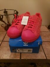 New.Adidas Superstar Xeno AQ8181 Reflective Red Casual Shoes. Men's Size 9.5