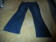 MAURICES BLUE BOOTCUT JEANS WITH STITCHING SIZE 9/10-S INSEAM: 29 INCHES