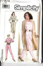 Simplicity Sewing Pattern 8648 WOMEN/'S DUSTER in due lunghezze Kimono
