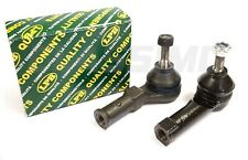 FOR RENAULT CLIO MK2 MK3 TRACK TIE ROD END PAIR X2 2000-2013