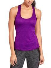 NWT Athleta Shadow Stripe Chi Tank, Crushed Grapes, Purple, SMALL TALL (ST) $44