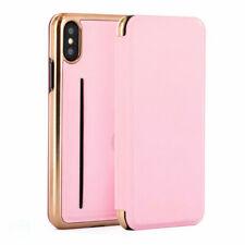 Ted Baker SHARITA Mirror Folio Soft Rose Case iPhone X/XS RRP £39 Pink Card slip