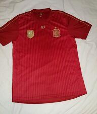SPAGNA (Espana) ufficiali di calcio vincitori COPPA DEL MONDO SHIRT CAMISETA MAGLIA TRIKOT