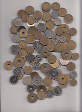 Lot von 100 verschiedenen Token, Chips, Wertmarken, Waschmarken  Nr. 1/41/15/278