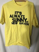 Stella Blues It's Always Sunny In New Haven T-Shirt Grateful Dead Yellow Parody