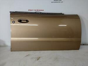 00 SATURN LS LS2 PASSENGER RIGHT FRONT EXTERIOR DOOR SKIN PANEL MEDIUM GOLD 60U