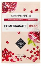 ETUDE HOUSE Revitalizing Radiance 0.2Therapy Air Mask 20ml X10EA [Pomegranate]