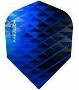 Harrows Paragon Blue Standard Dart Flights
