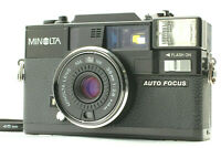 【Excellent+++++】 Minolta HI-MATIC AF-D 38mm f2.8 Compact Film Camera From JAPAN