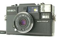 【Excellent+5】 Minolta HI-MATIC AF-D 38mm f2.8 Compact Film Camera From JAPAN