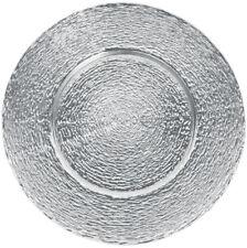 SOTTOPIATTO PIATTO DI VETRO piatti, 6 pezzi, in bianco e nero