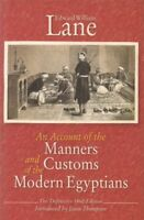 An Account Of The Manners And Customs Of The Modern Egyptians(Hardba-VG