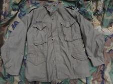 370e705799c GENUINE US army ISSUE M65 M 65 COAT FIELD COMBAT jacket VIETNAM OG green M  BANTA