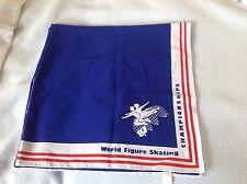 1987 isu international skating Union world figure skating championships scarf