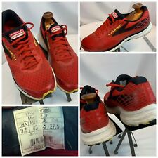 Brooks Launch 3 Sz 9.5 Men Red Running Shoes Mint Cond YGI H0S-114
