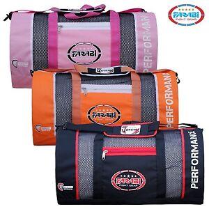 Farabi Gym Fitness Workout Gear Bag, MMA, Boxing Gear Bag, Kit Bag