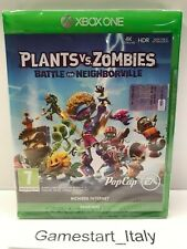 PLANTS VS ZOMBIES BATTLE FOR NEIGHBORVILLE - XBOX ONE - NUOVO SIGILLATO PAL