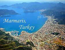 Turkey - MARMARIS - Travel Souvenir Flexible Fridge MAGNET