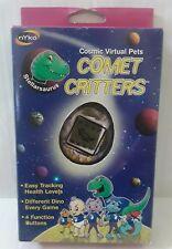 NEW Nyko Comet Critters Virtual Pet Stellarsaurus Tamagotchi Keychain Purple