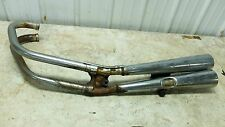 80 Honda CB 750 CB750 K CB750k left side muffler pipe exhaust