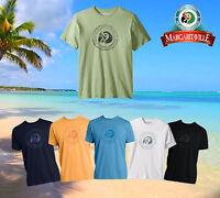 Margaritaville Men's Short Sleeve Icon Parrot Head Print T Shirt in sizes M-2XL