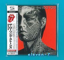 Rolling Stones Tattoo You JAPAN mini lp CD SHM brand new & still sealed