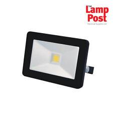 Slimline LED Outdoor Garden Floodlight 10W 20W 50W - Optional Microwave Sensor