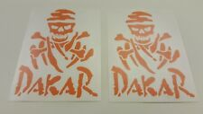 Land Rover Discover Td5 Tdi Defender 90 Dakar rally skull  KTM decals stickers