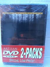 The Blair Witch Project/Book Of Shadows Blair Witch 2 Pack Dvd Ntsc New-Sealed!